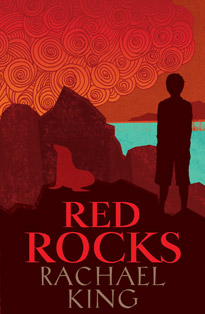 Red Rocks, Rachael King, Book Cover, New Zealand Author