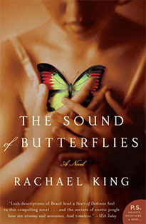 The Sound of Butterflies, Rachael King, Book Cover, New Zealand Author