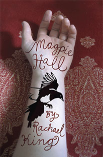 Magpie Hall, Rachael King, Book Cover, New Zealand Author